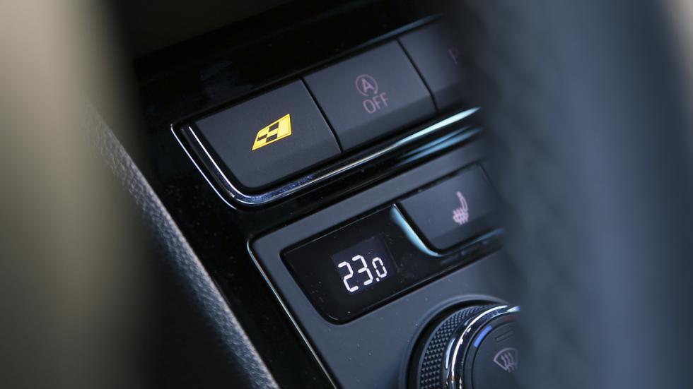 Selector de modo de conducción en Seat León Cupra