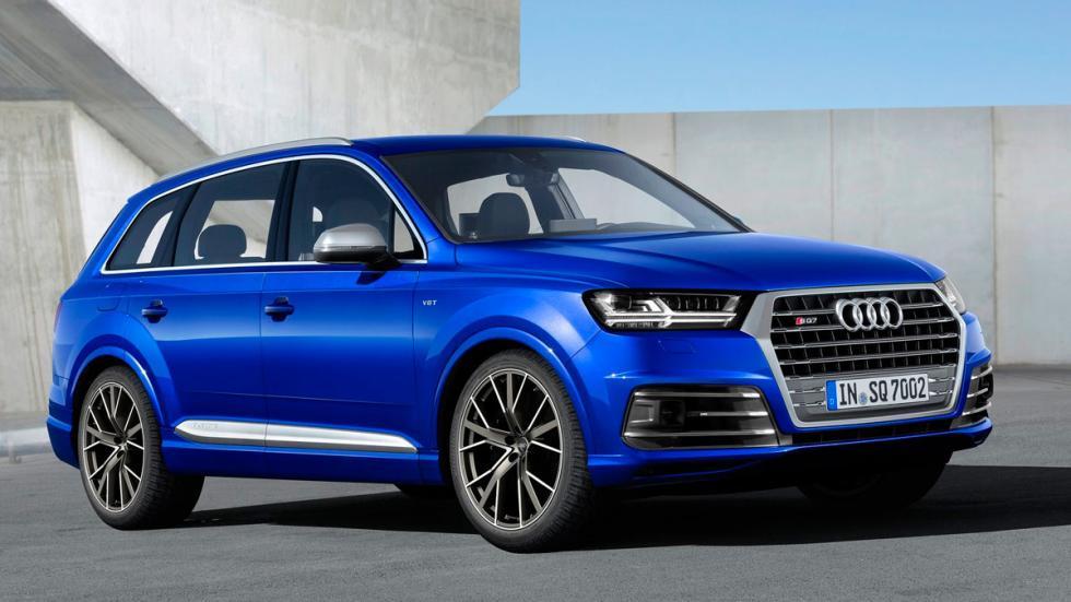 SUV para el asfalto: Audi SQ7