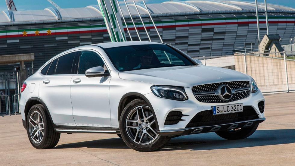 SUV para el asfalto: Mercedes GLC Coupe