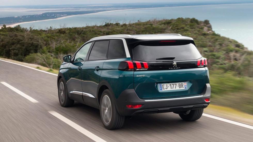 SUV para el asfalto: Peugeot 5008