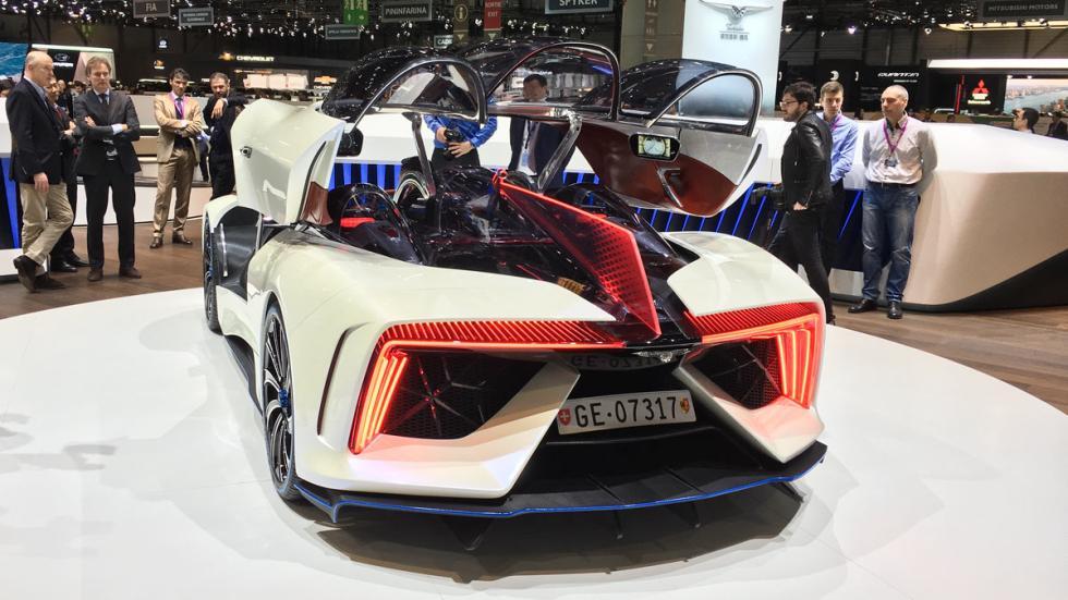 Techrules GT96 Salón de Ginebra 2017
