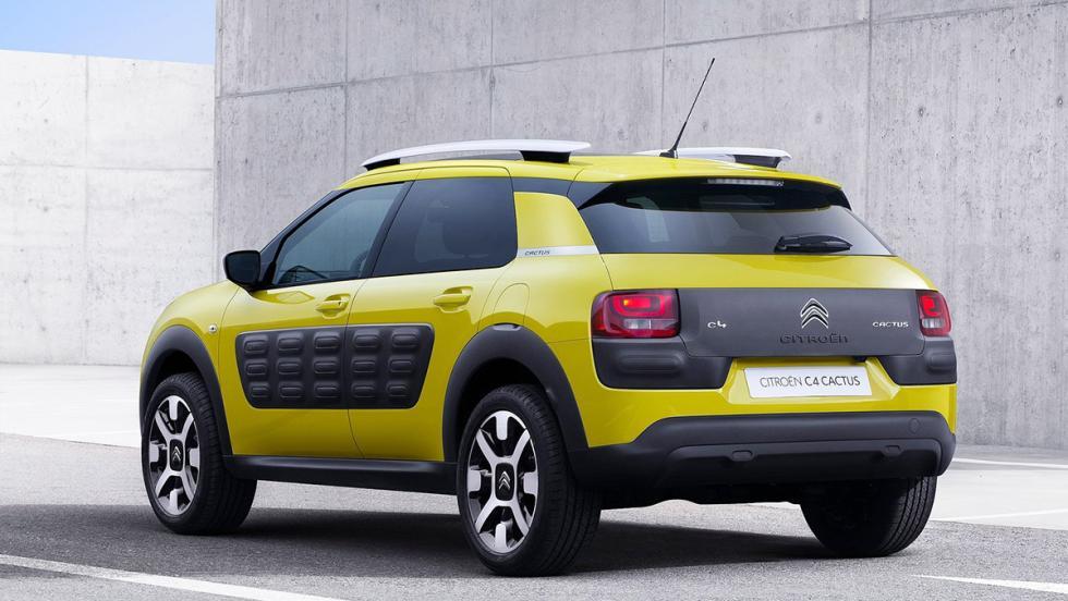 Todos los rivales del Dacia Duster 2017 - Citroën C4 Cactus
