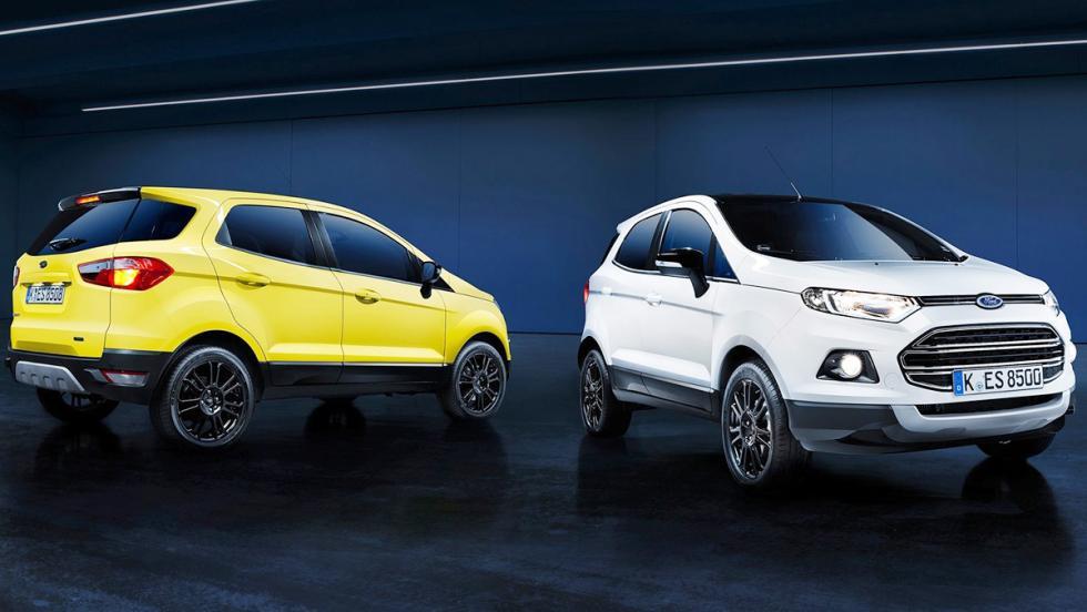 Todos los rivales del Dacia Duster 2017 - Ford EcoSport