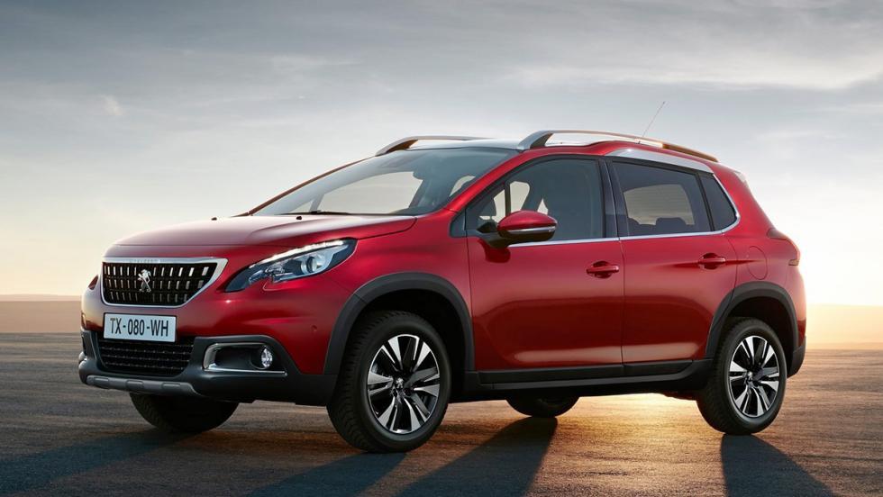 Todos los rivales del Dacia Duster 2017 - Peugeot 2008
