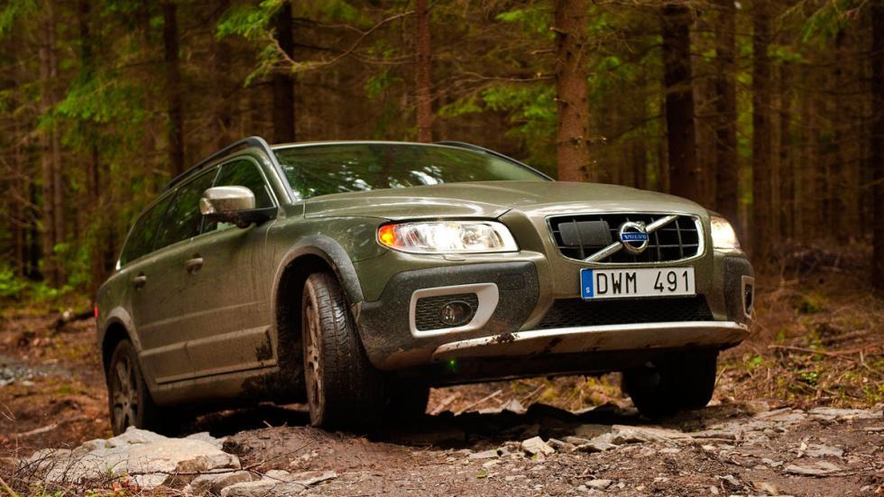Volvo XC70 barro robusto