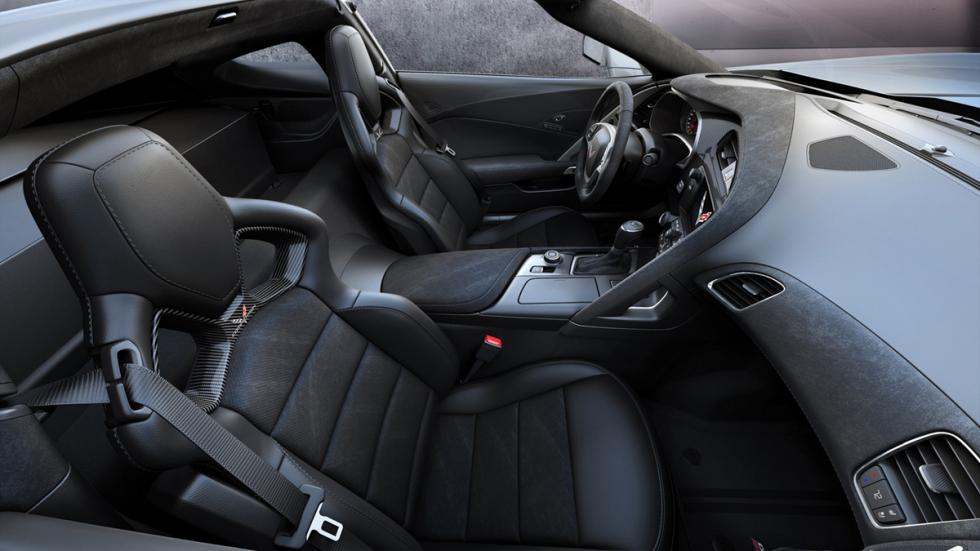 Chevrolet Corvette Grand Sport Admiral Blue Heritage interior