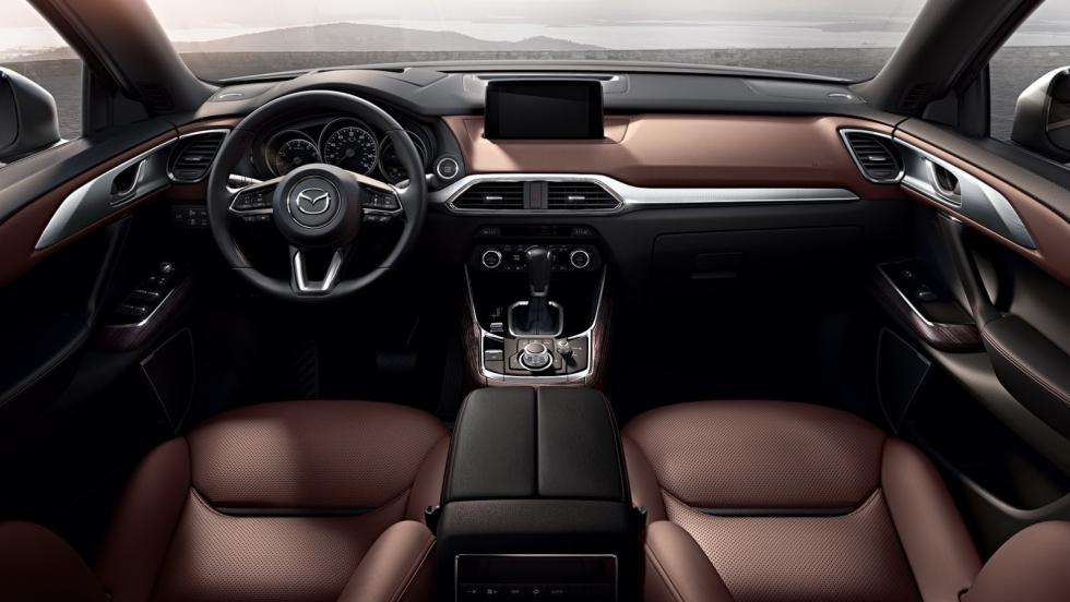 Interior del Mazda CX-9