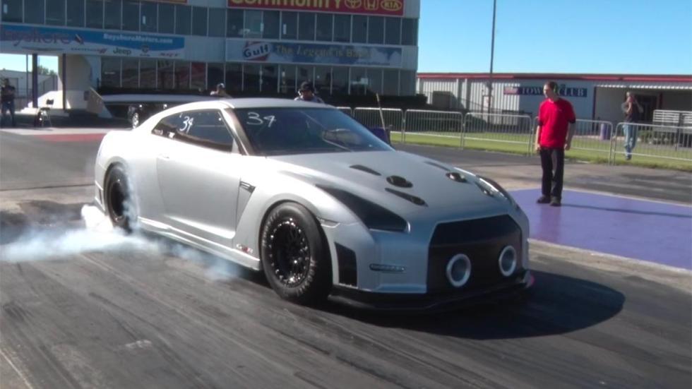 Nissan GT-R T1 Race Development más rapidos