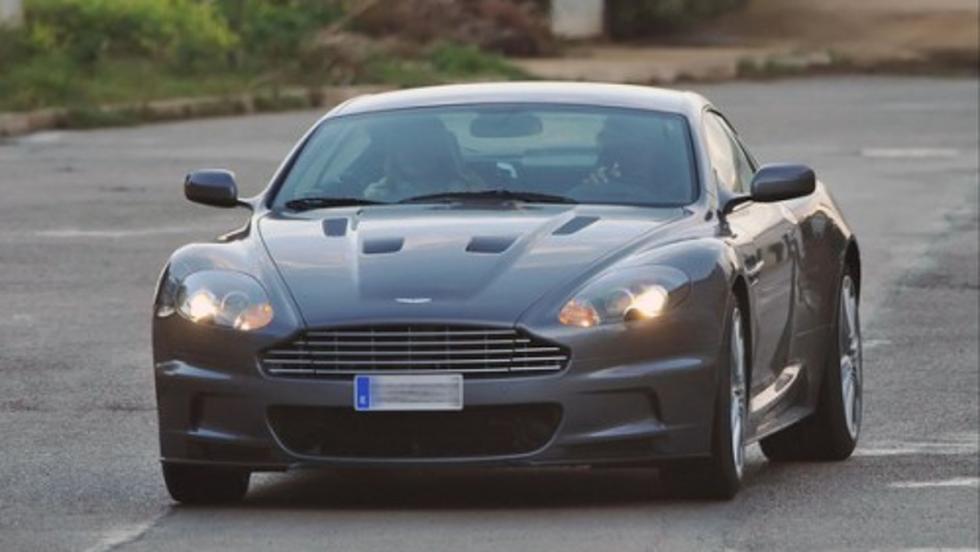 El Aston Martin DBS de Rafa Nadal