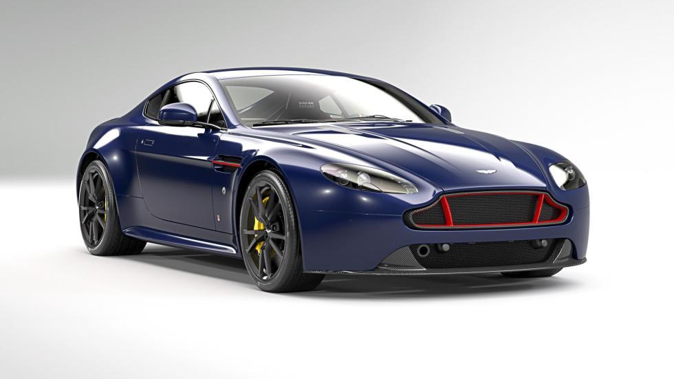 Aston Martin V8 Vantage S Red Bull Edicion especial motorsport