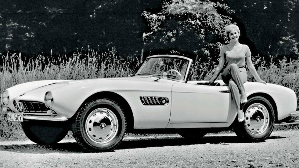 BMW 507 deportivo clásico
