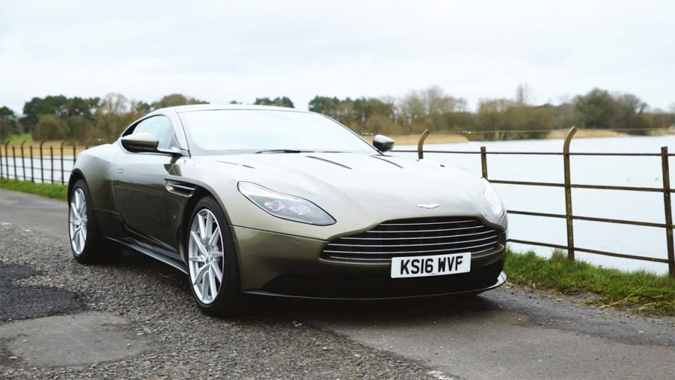 Chris Harris conduce el Aston Martin DB11 (V)