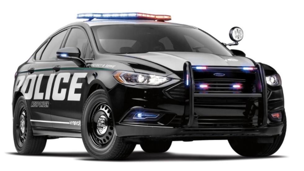 Coche de Policía de Ford (IV)