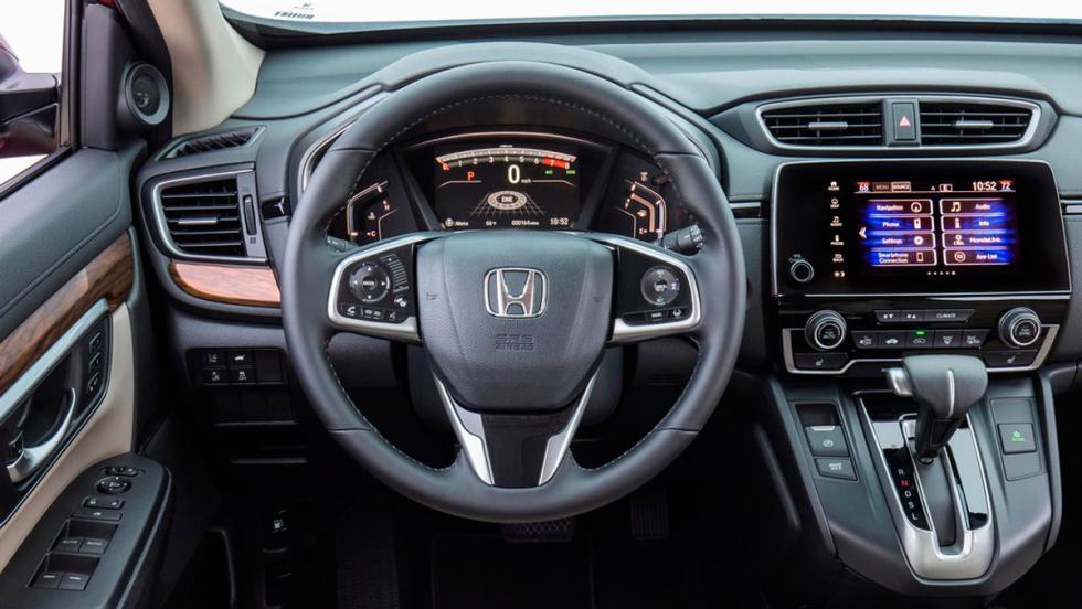 Coches con el mejor interior 2017: Honda CR-V