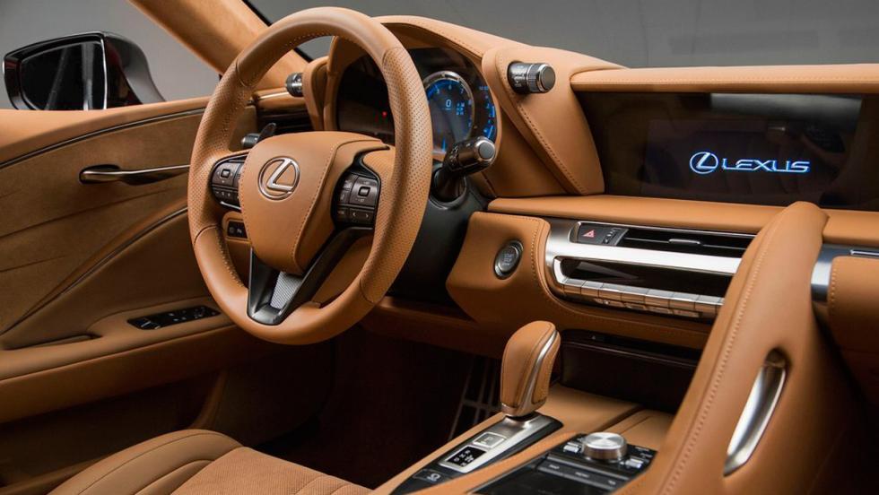 Coches con el mejor interior 2017: Lexus LC 500