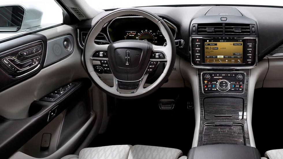 Coches con el mejor interior 2017: Lincoln Continental