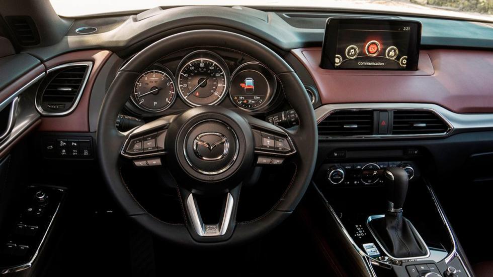 Coches con el mejor interior 2017: Mazda CX-9