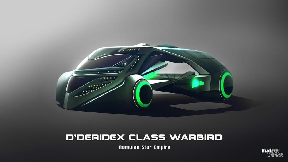 Coches de las naves de Star Trek: D'Deridex Class Warbird