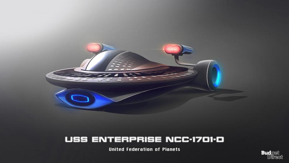 Coches de las naves de Star Trek: USS Enterprise NCC 1701-D