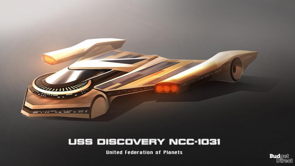 Coches de las naves de Star Trek: USS Discovery NCC-1031
