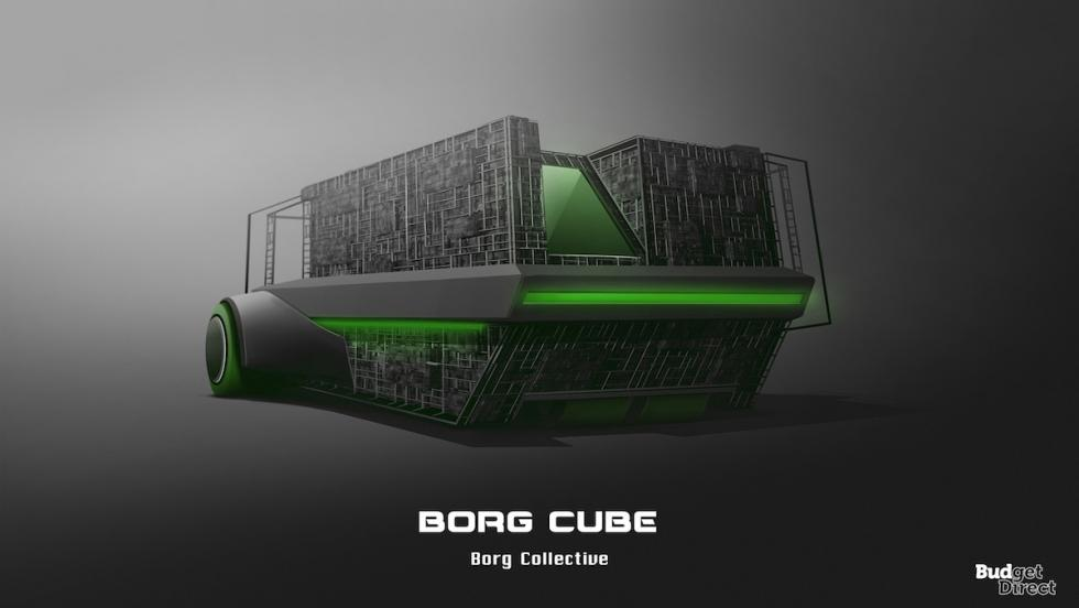 Coches de las naves de Star Trek: Borg Cube