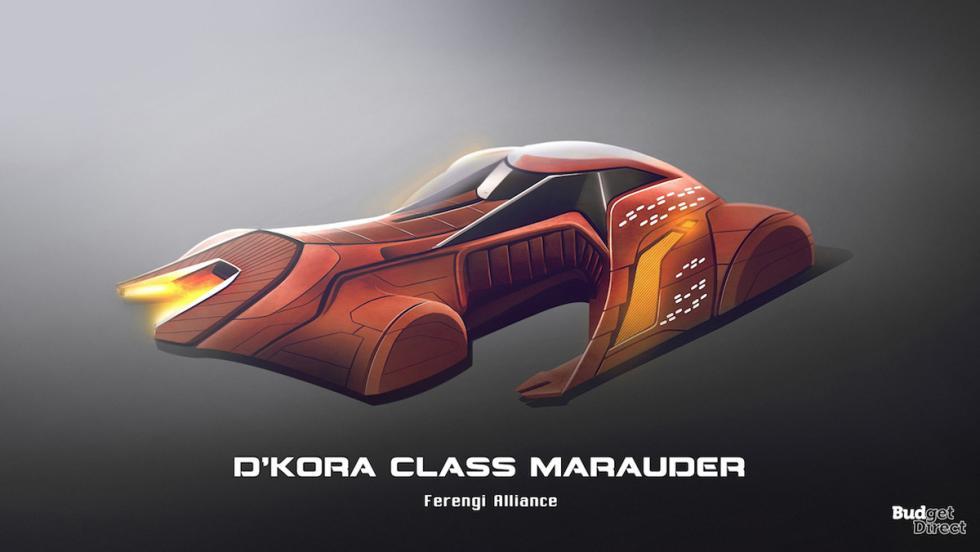 Coches de las naves de Star Trek: D'Kora Class Marauder