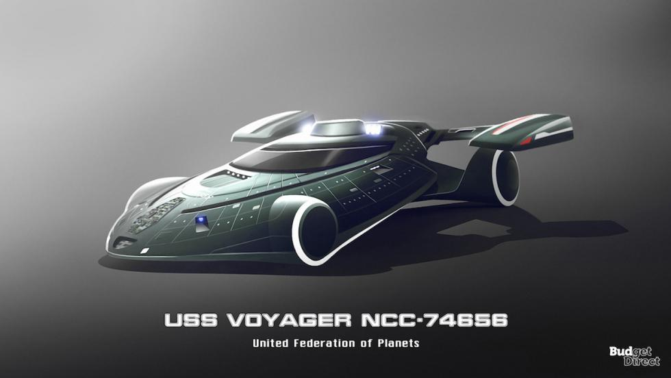 Coches de las naves de Star Trek: USS Voyager NCC-74656