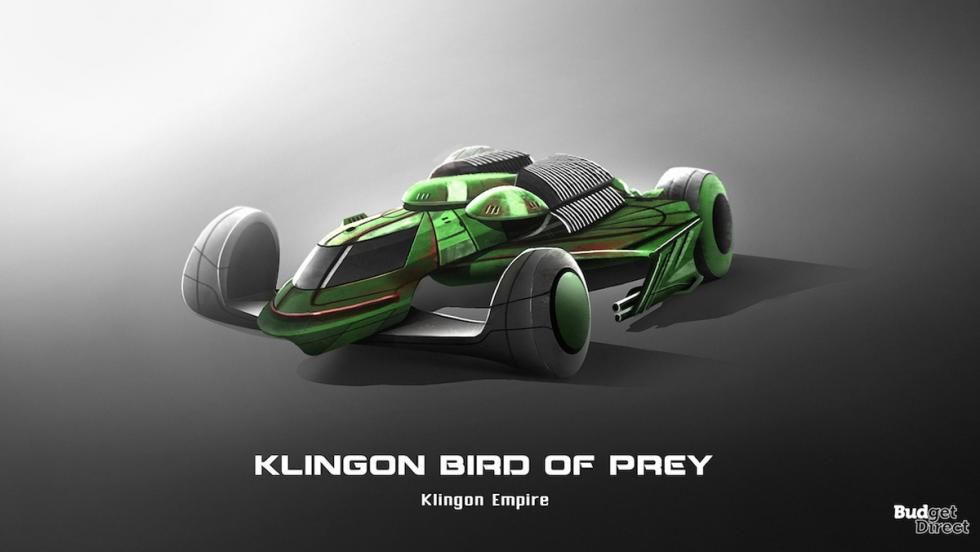 Coches de las naves de Star Trek: Klingon Bird of Prey