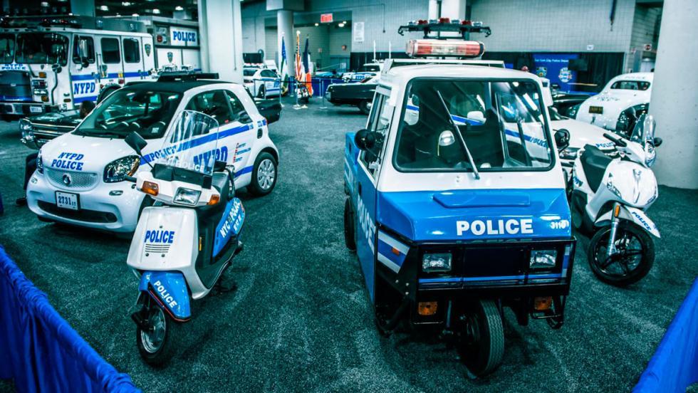 Coches de Policía patéticos