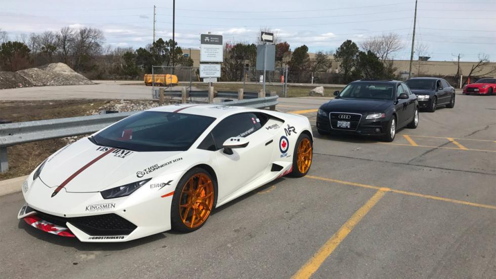 Coches requisados Policía de Ontario