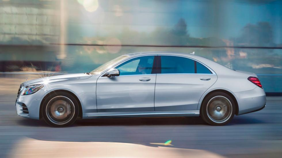 Coches para tener un hijo: Mercedes Clase S (I)