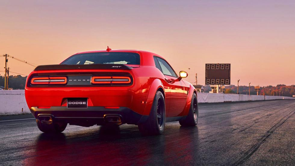 Los datos más brutales del Challenger SRT Demon - Es el primer coche de producción con reserva de par