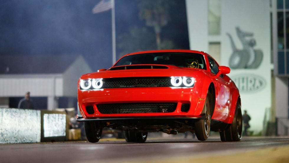 Los datos más brutales del Challenger SRT Demon - Produce más fuerza G en aceleración que ningún otro en el mundo