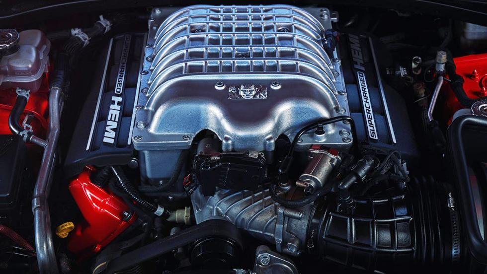 Los datos más brutales del Challenger SRT Demon - Su bloque V8 es el más potente jamás fabricado