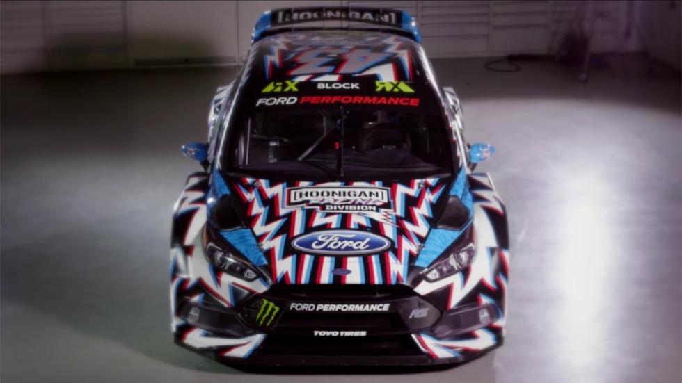 Decoración Ford Focus RS RX