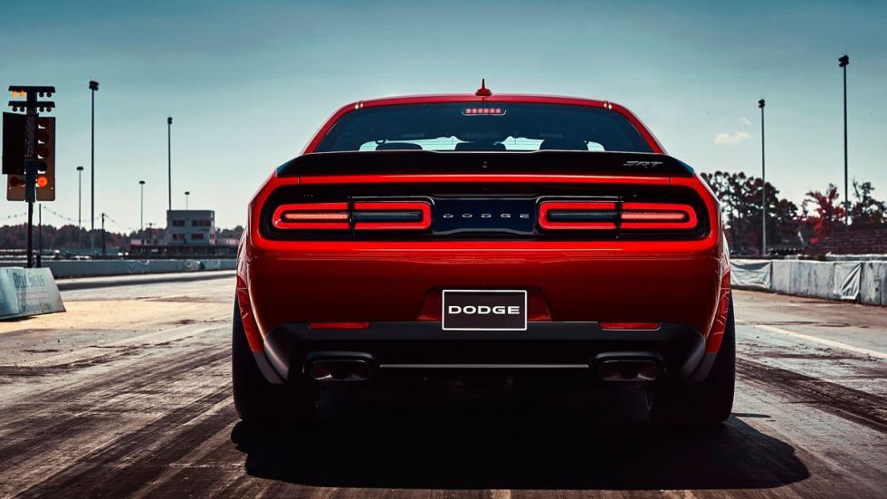 Dodge Challenger SRT Demon muscle car