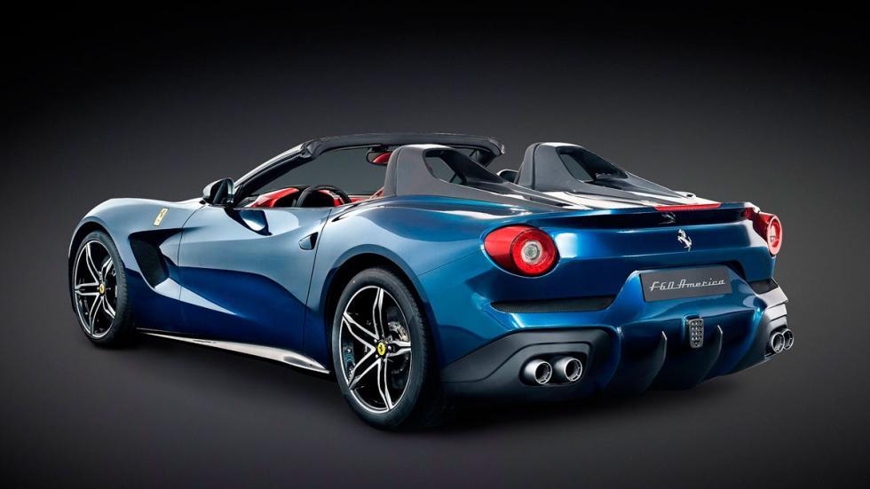 Ferrari F60 América trasera