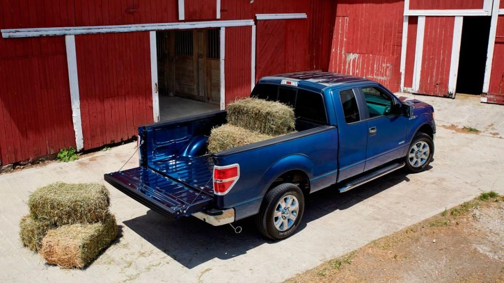 Ford F-150 2013 motor ecoboost pick-up trabajo carga