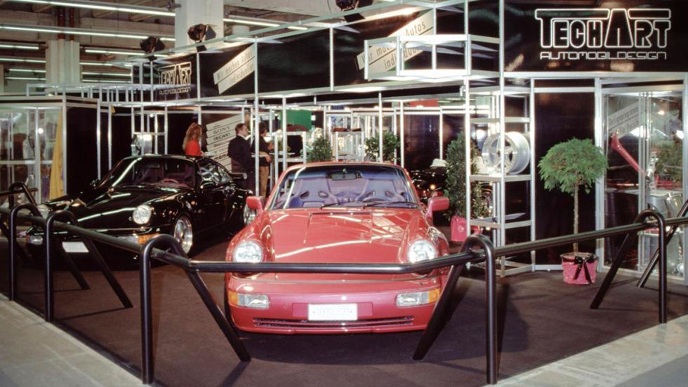 La historia de Techart - En 1991 presentaron oficialmente sus primeras creaciones