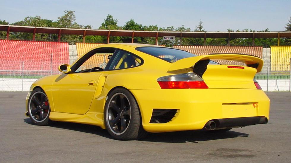 La historia de Techart - 2001: una odisea en el 911 Turbo