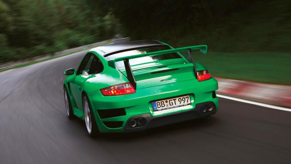 La historia de Techart - En 2007 ganarían a Porsche... con un Porsche