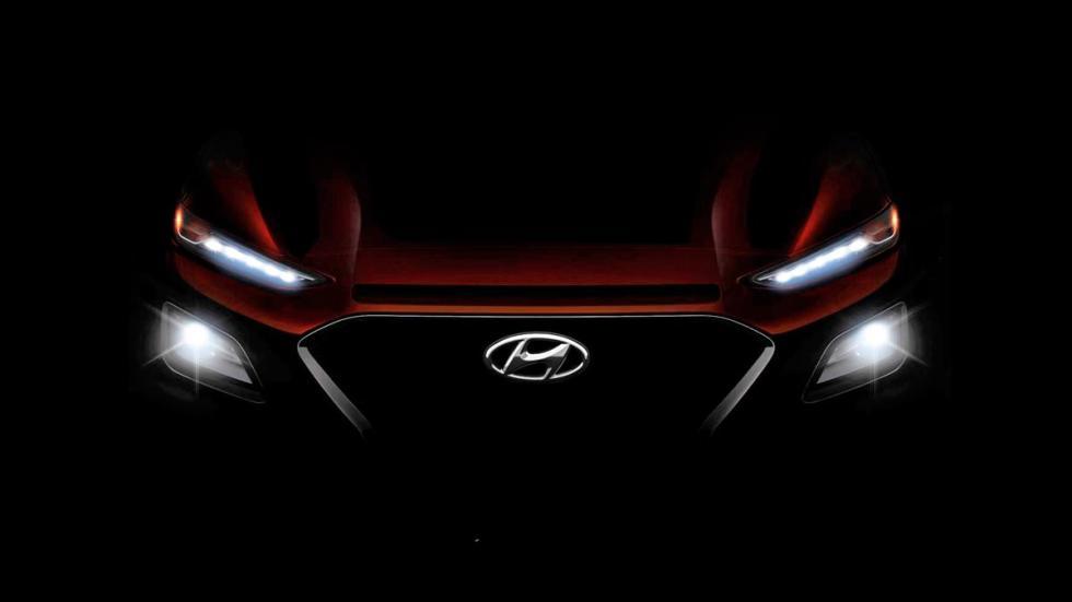 Hyundai Kona frontal led futuro suv compacto