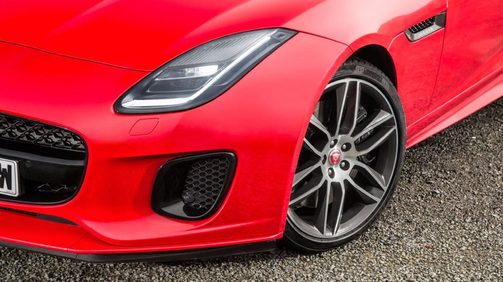 Jaguar F-Type cuatro cilindros deportivo ingles