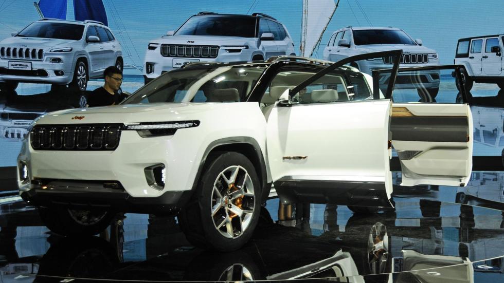 Jeep Yuntu Concept salon shanghai suv prototipo