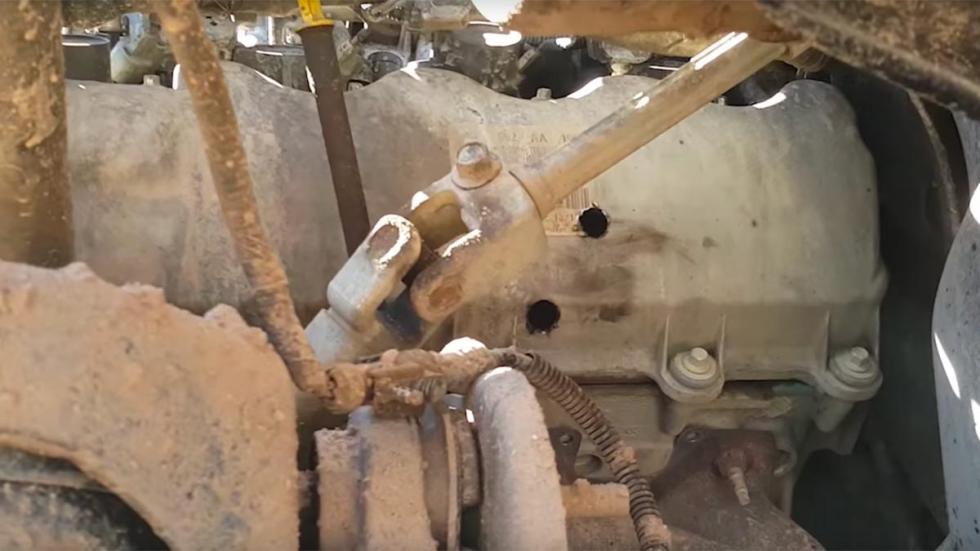 Maneras de destruir tu coche: disparar al motor