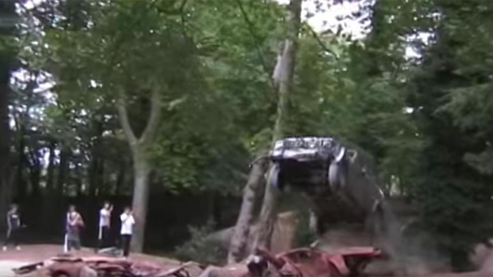 Maneras de destruir tu coche: homenaje off-road