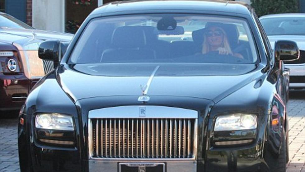 El mastodóntico Rolls Ghost de Paris Hilton