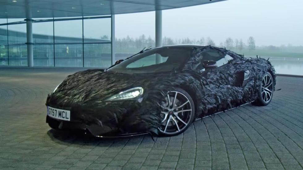 McLaren 570s vinilo de plumas