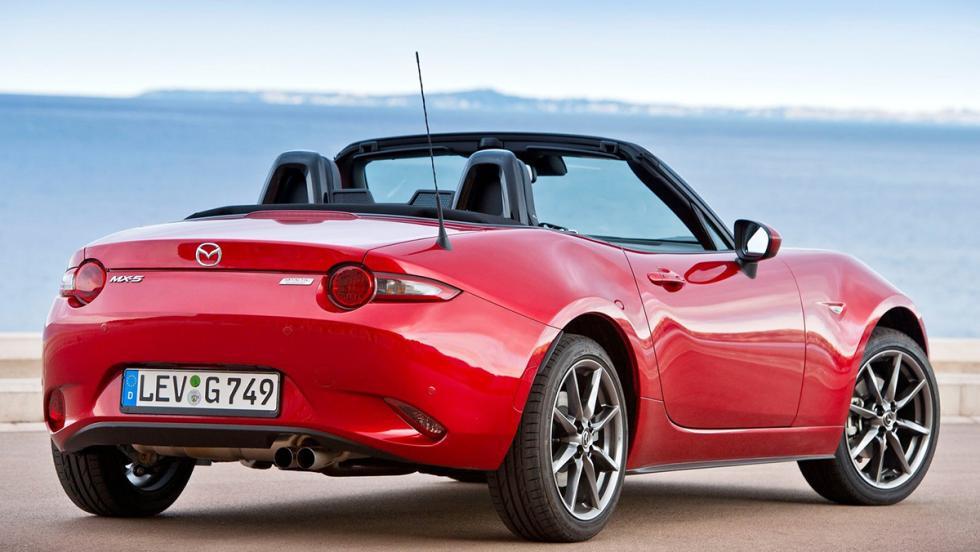 Los mejores cabrios 2017 - Mazda MX-5