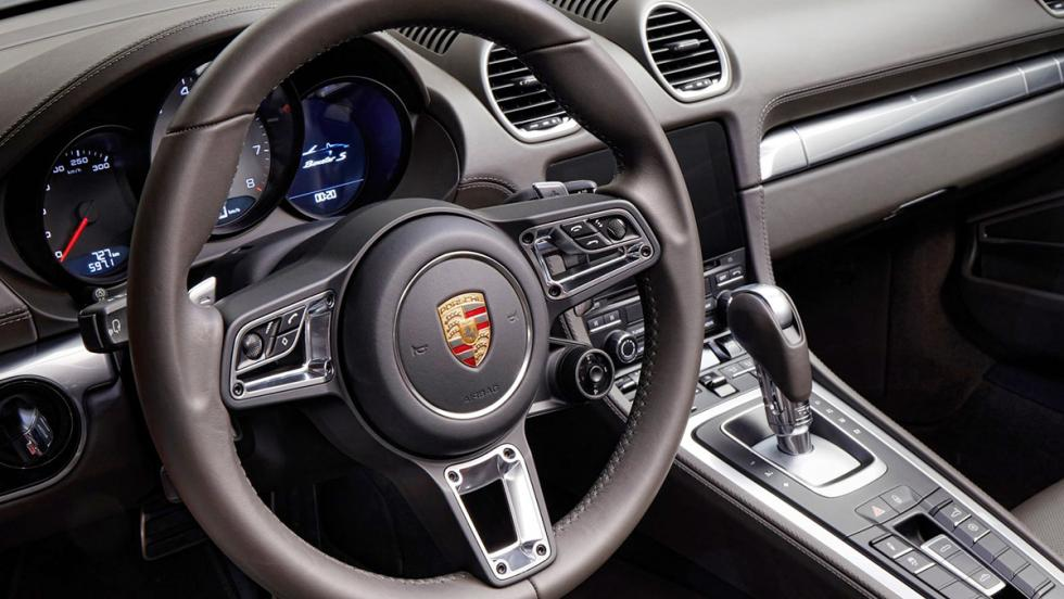 Los mejores cabrios 2017 - Porsche 718 Boxster